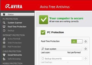 Free Antivirus for Microsoft Windows OS